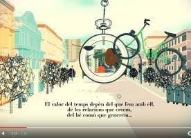 Vídeos de l'entitat Salut i Família sobre els bancs del temps