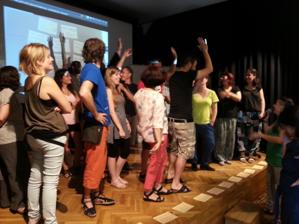 Participants d'una edició anterior d'Activa't