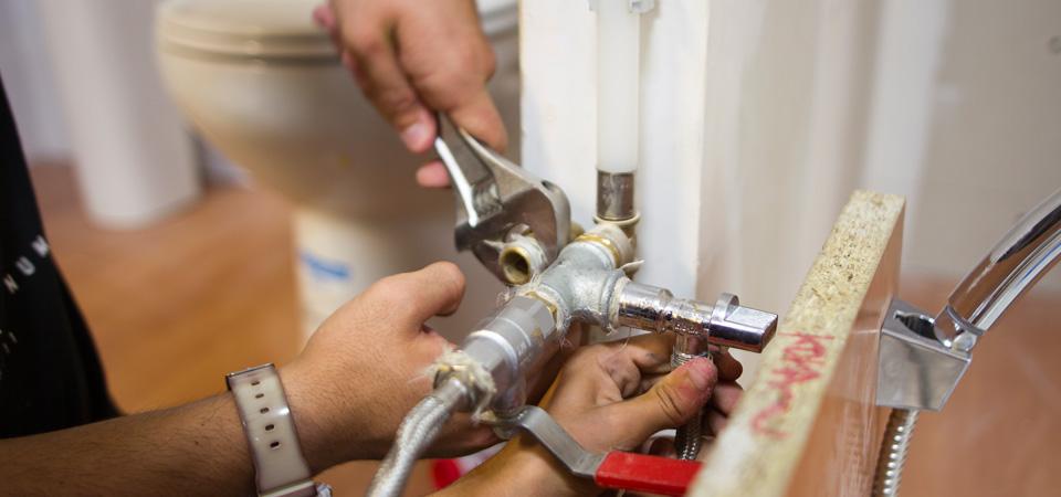 Reparació de fontaneria