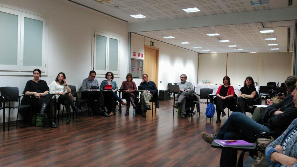 Assistents al taller de teoria del canvi