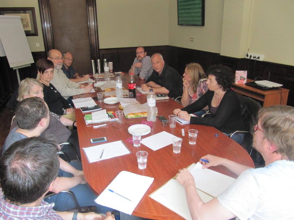 Reunió amb Josep Vidal