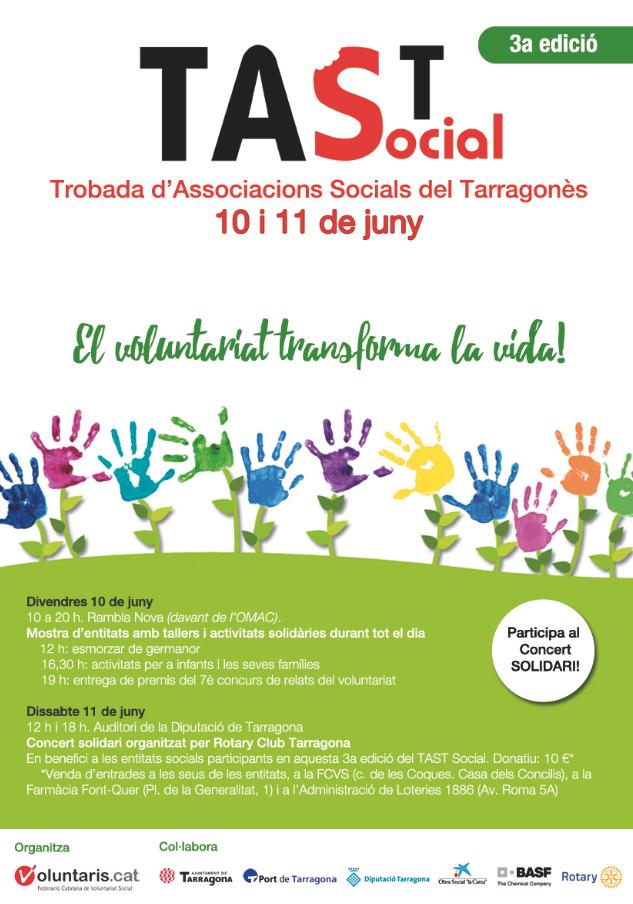 Tercera edició del TAST Social