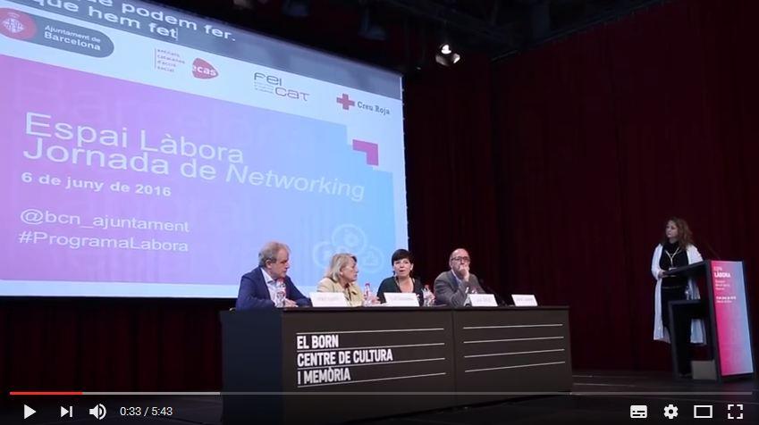 Vídeo jornada làbora - taula de ponents