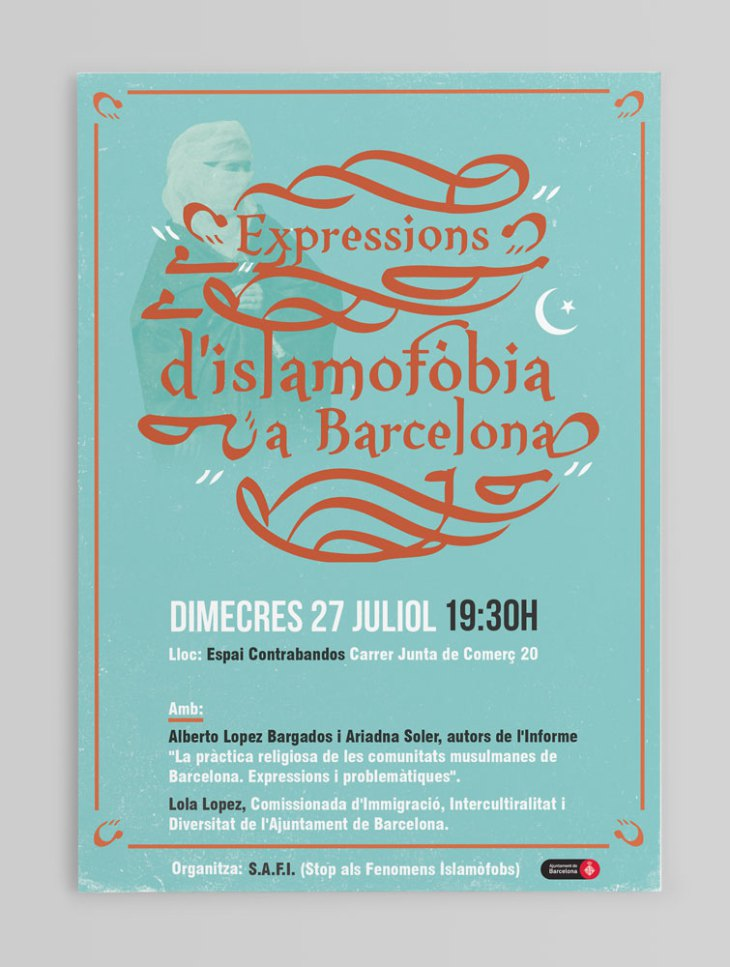 'Expressions d'islamofòbia a Barcelona', 27 de juliol