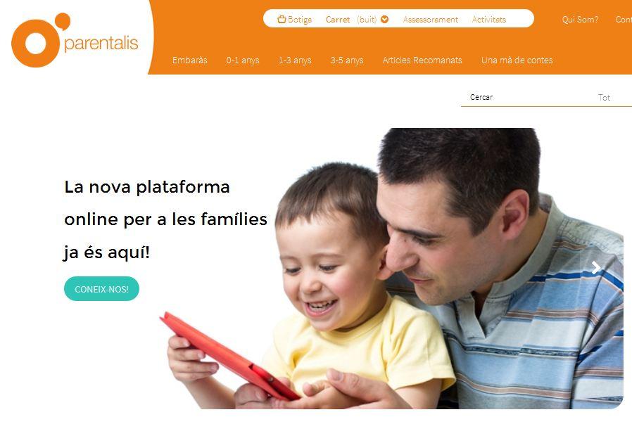 parentalis, web per famílies de Suara