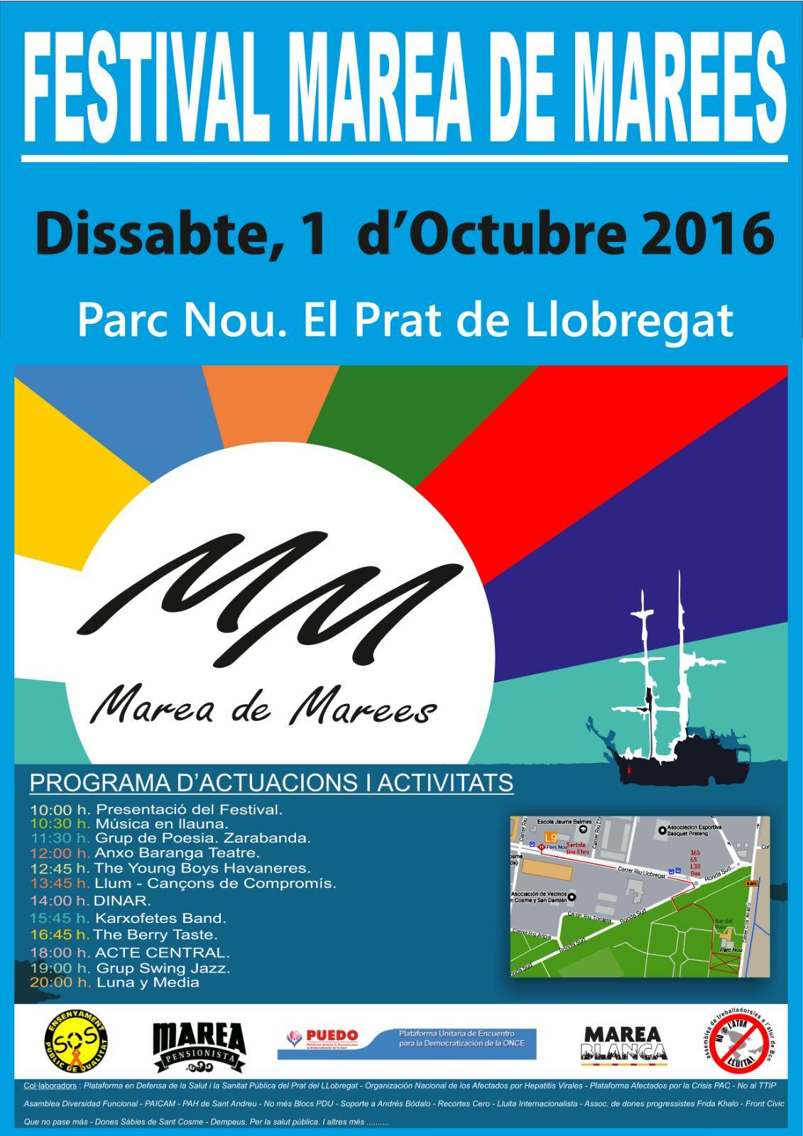 Festival Marea de Marees, 1 d'octubre