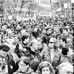 Manifestació treball digne