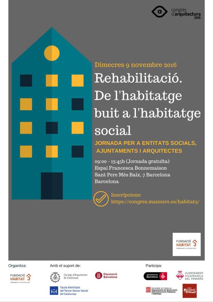 jornada rehabilitació d'habitatge social