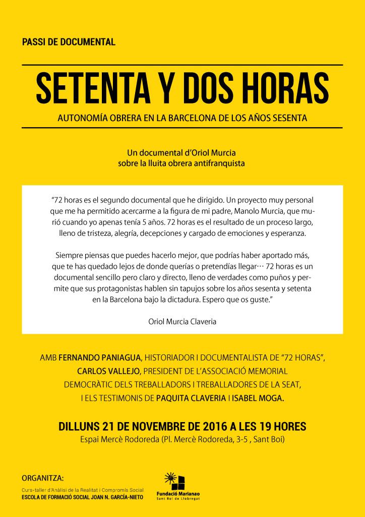 Documental sobre lluita antifranquista