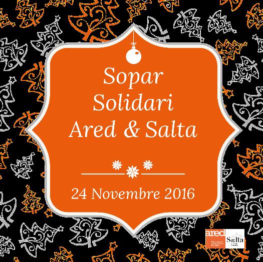 Sopar solidari d'Ared i Salta, 24 de novembre