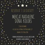 Cartell del Mercat Solidari Dóna Kolors