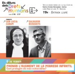 Cartell conferència 'Frnar l'augment de la pobresa infaltil'