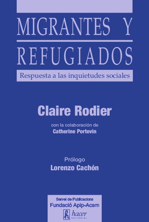 Coberta llibre 'Migrantes y refugiados'