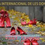 Cartell Dia Internacional de la Dona de l'Associació Salut i Família