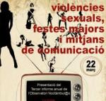 Jornada Violències sexuals, festes majors i mitjans de comunicació