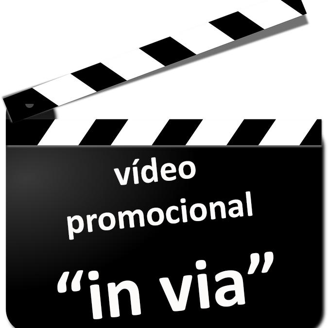 """Gravació d'un vídeo per promocionar l'Associació """"in via"""", 17 de març"""