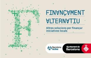 Cartell Programa Finançament alternatiu