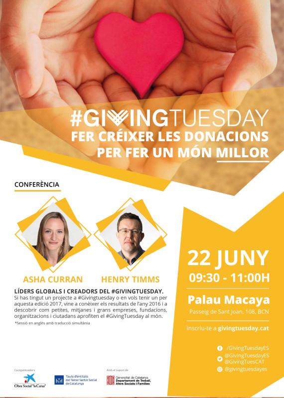 Conferència informativa sobre el #GivingTuesday, 22 de juny