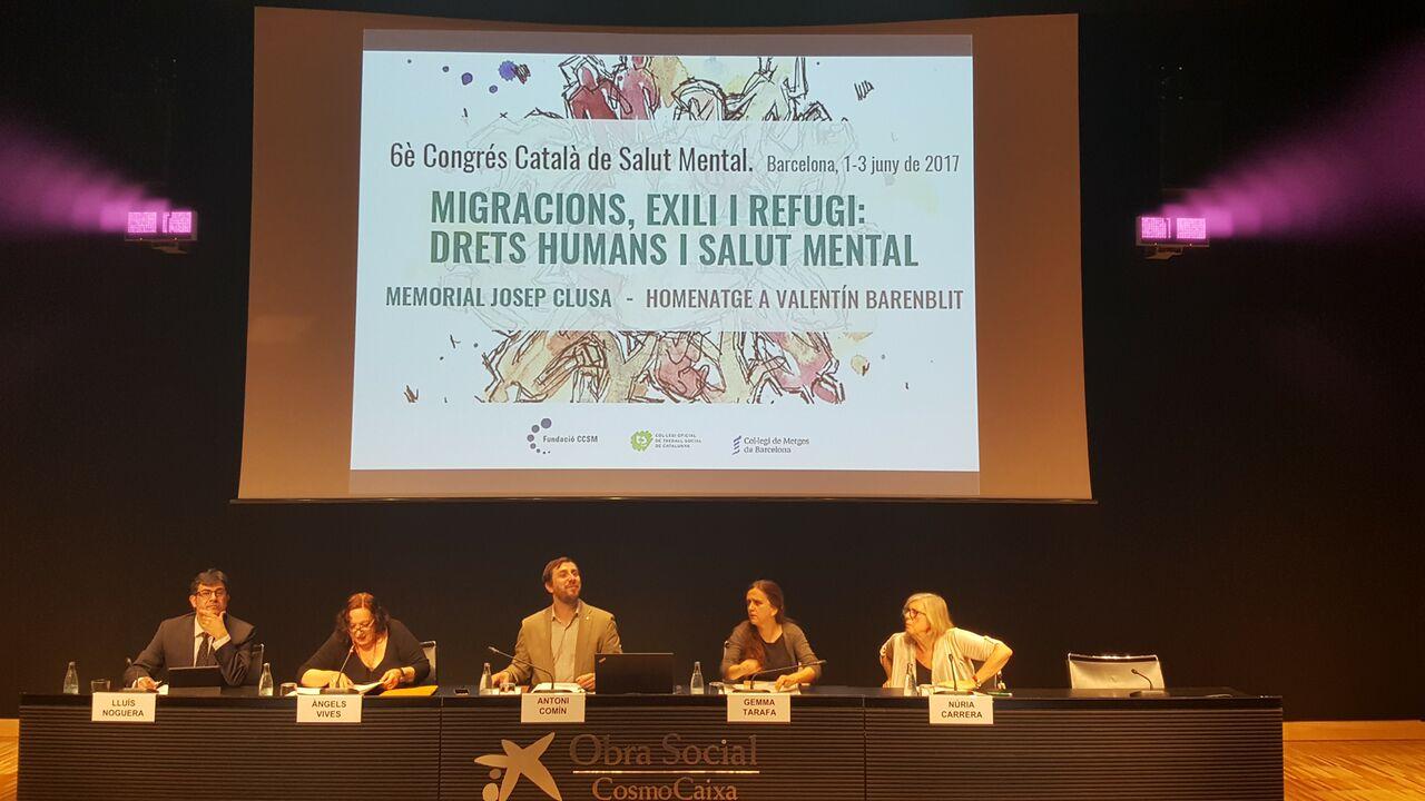 El 6è Congrés Català de Salut Mental reivindica la fraternitat, els drets i la qualitat democràtica en relació a les persones migrades