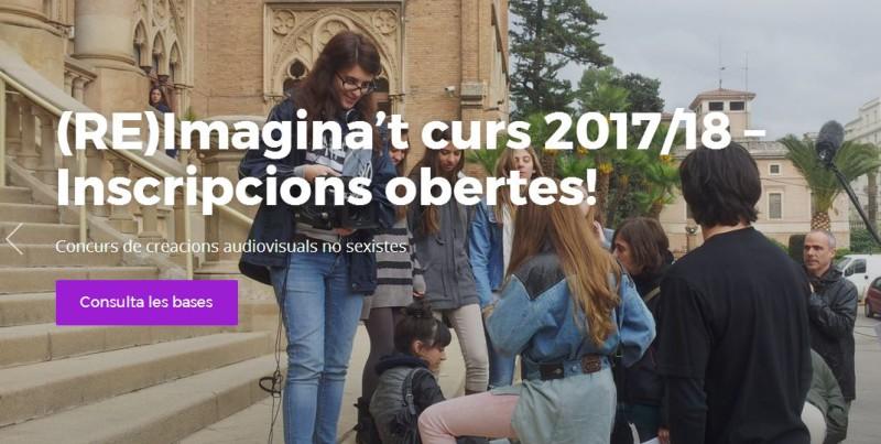 9ª Edició del concurs (RE)IMAGINA'T Creacions audiovisuals no sexistes