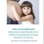Cartell del Taller de sensibilització 'Millorant la planificació de la teva família'