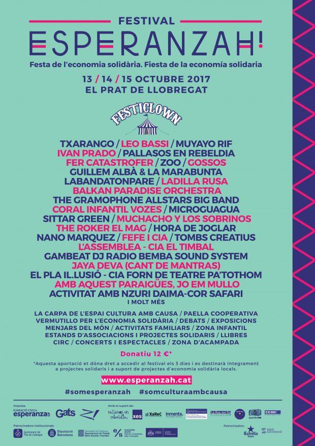 Cartell Festival Esperanzah!