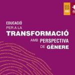 Portada catàleg 'Educació per a la transformació amb perspectiva de gènere