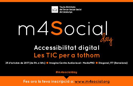 m4social Day: 'Les TIC per a tothom', 25 d'octubre