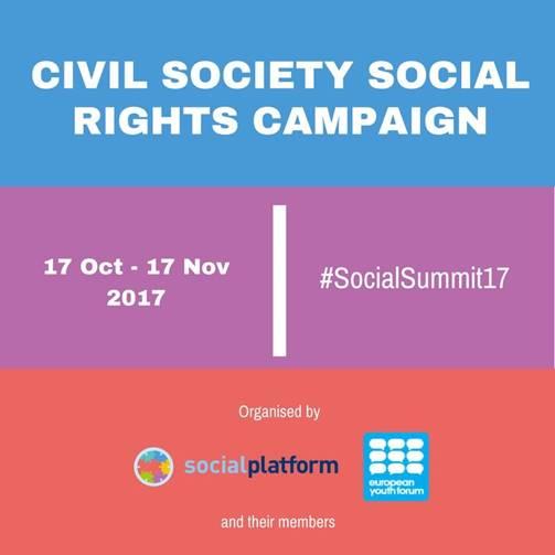 'Civil Society Rights Campaign', campanya europea pels drets socials