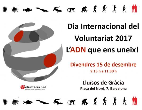 Dia internacional del Voluntariat 2017, 15 de desembre