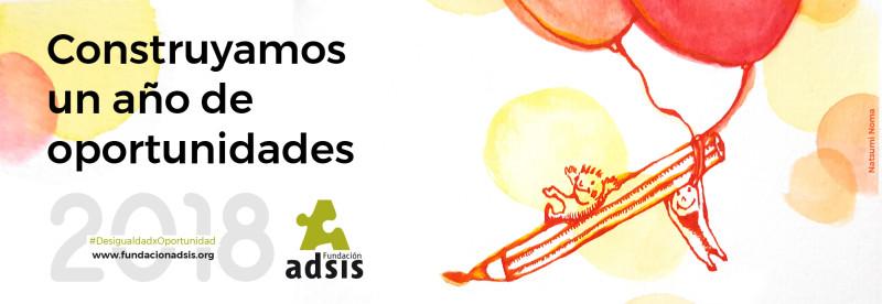 Calendari 2018 i fons de pantalla de la Fundació Adsis