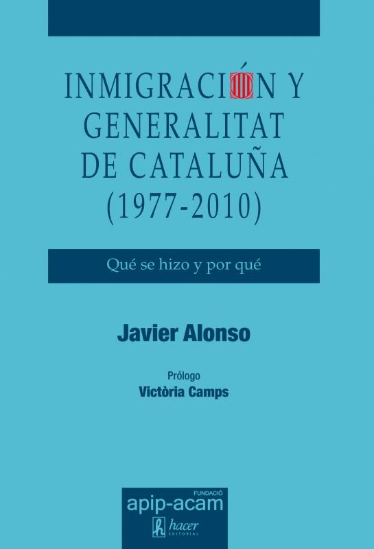 Presentació del llibre 'Inmigración y Generalitat de Catalunya (1977-2010)', 5 de juny