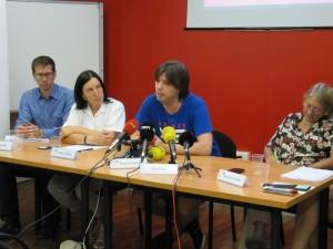 Roberto Martínez, testimoni que ha participat en l'informe