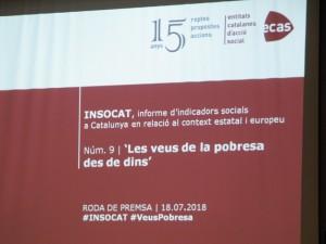 Presentació INSOCAT 9 'Les veus de la pobresa des de dins'