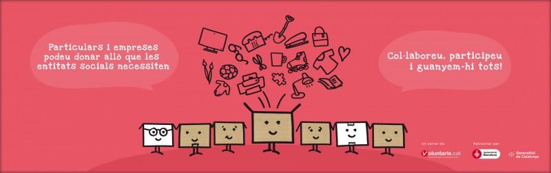 'Guanyem-hi tots!', l'eina que permet a les entitats socials donar una segona vida a productes útils