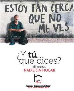 Campanya sobre sensellarisme d'Arrels Sant Ignasi