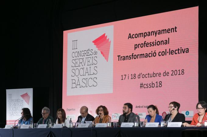 Les professionals dels Serveis Socials reclamen més compromís i coratge polític per transformar el sistema atenent a les necessitats reals de la ciutadania