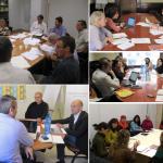 Vocalia de pobresa (2013-2014), Grup de treball de Governança (2017), de Codi ètic (2018) i d'Acció Comunitària (2018)