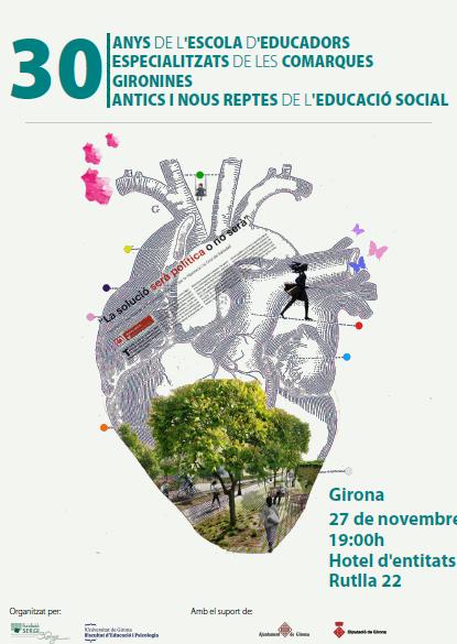 Presentació del llibre de la jornada 'Antics i nous reptes de l'educació social', 27 de novembre