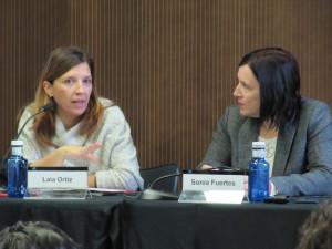 Laia Ortiz i Sonia Fuertes