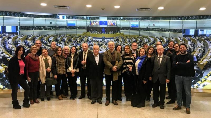 ECAS participa en la visita del Tercer Sector Social al Parlament Europeu
