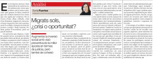 20190107_Migrats sols_Sonia Fuertes_ECAS