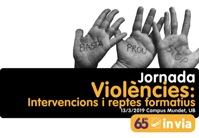 Jornada sobre la prevenció de les violències, 13 de març
