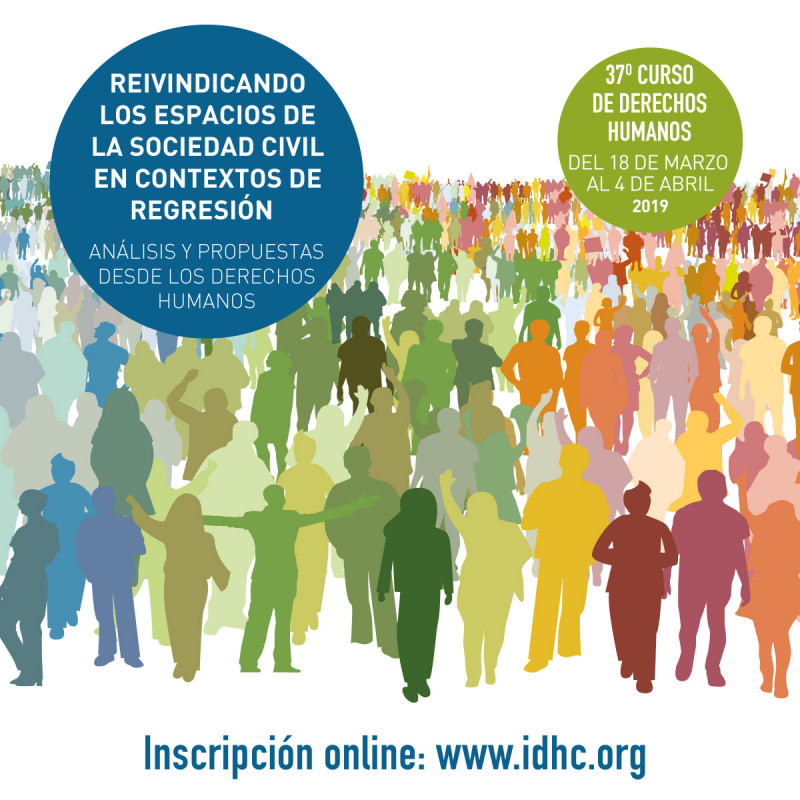 37è Curs Anual de Drets Humans, març i abril