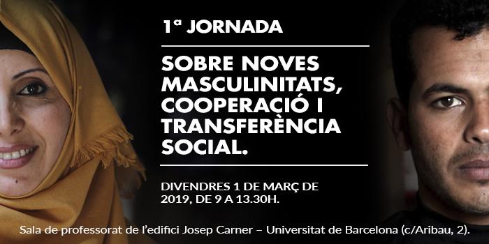 Jornada sobre noves masculinitats, cooperació i transferència social, 1 de març