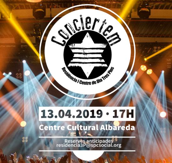 Conciertem, concert solidari en favor de Sant Pere Claver, 13 d'abril