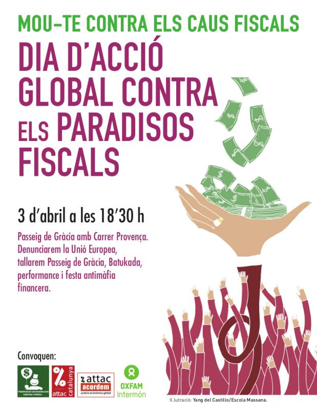 Dia d'acció global contra els paradisos fiscals, 3 d'abril