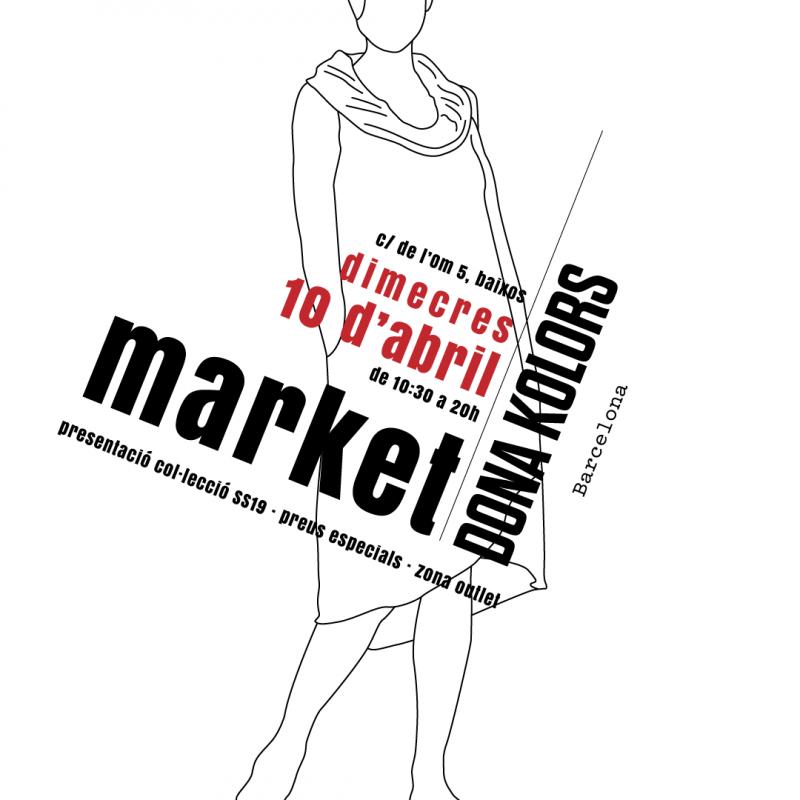 Market Dona Kolors, 10 d'abril