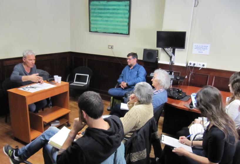 Seminari entorn del projecte 'Entre l'ocupació i el treball'
