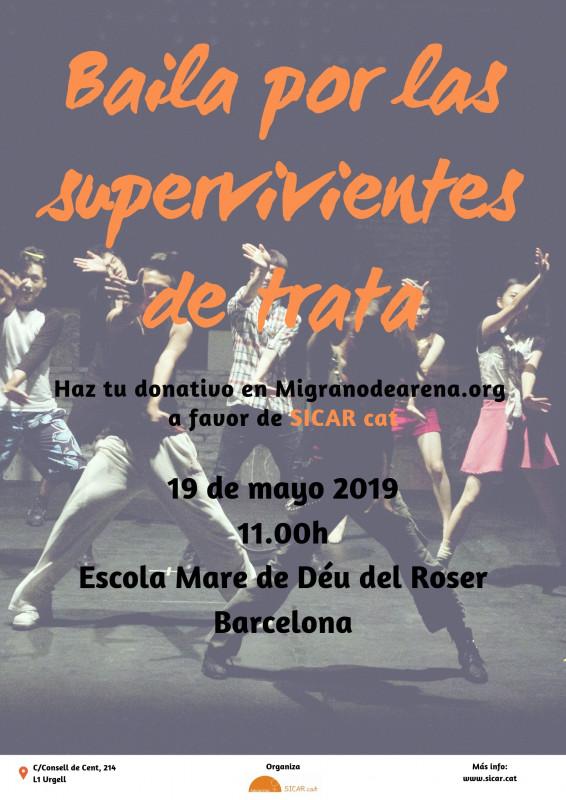 Màster class solidària de zuma 'Baila por las supervivientes de trata', 19 de maig